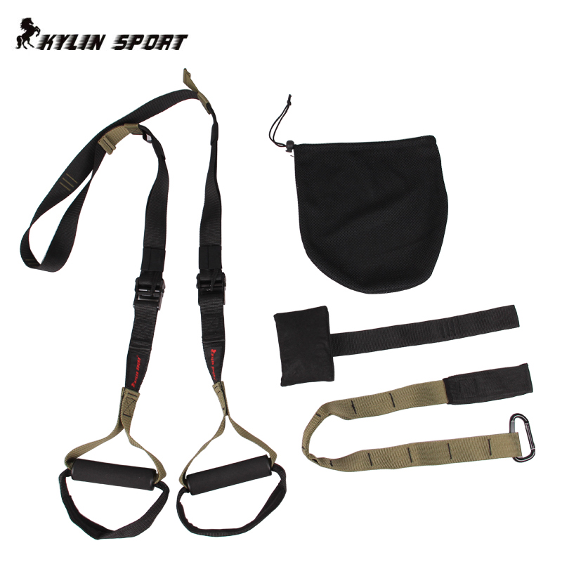 The Military Version Military Regulations Suspended Fitness Training  Pull Rope   Fitness Band TRXIP60