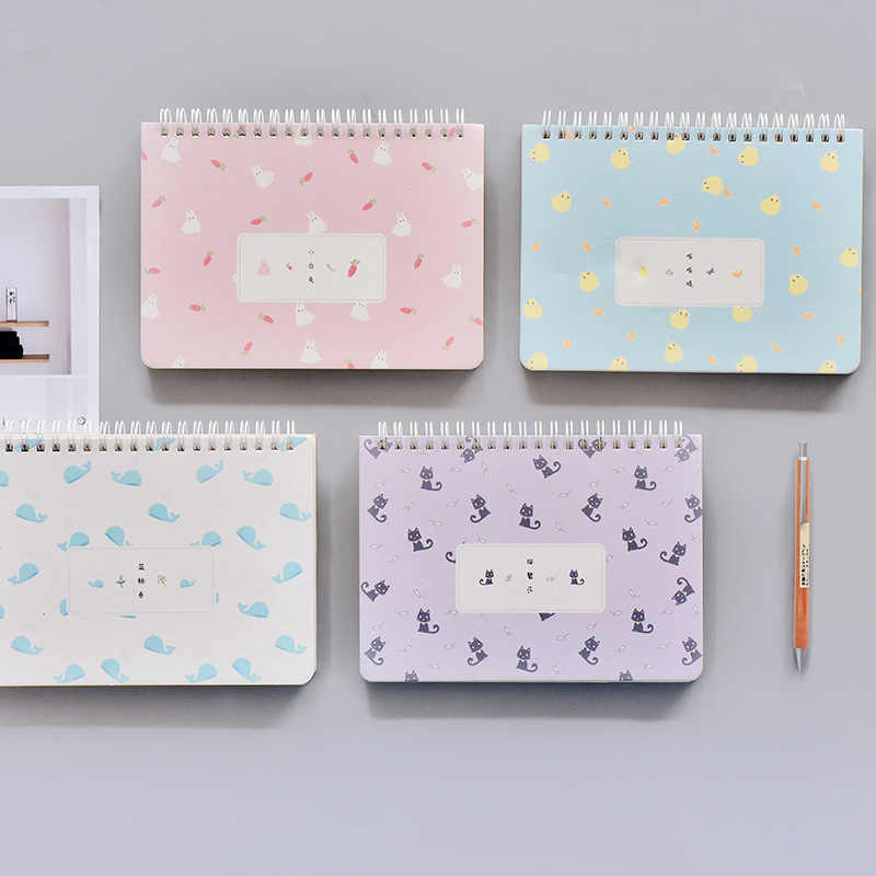 photograph relating to Daily Planner Notebook called Kawai system memo coil guide 120 sheet weekly each day planner laptop schedule organizer sketchbook Stationery University elements Escolar
