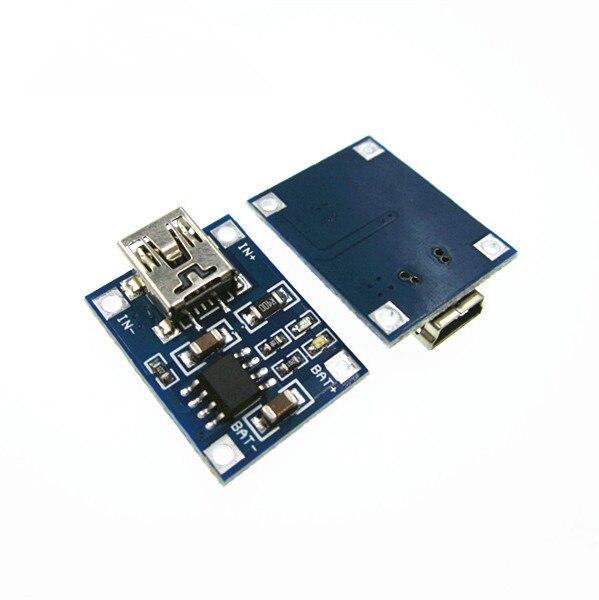 10PCS Lithium Battery Charger Module Board Mini 5v USB 1A Li-ion Battery Charger TP4056 18650 DIY