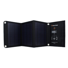 Double USB Folding Mono Solar Panel Charger Power Bank For iphone 6 6s 7 plus for samsung Cell phone Foldable Solar USB Charger