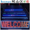 Leeman Sinosky 2015 programmable led sign/led moving message display board/advertising led electronic information board 16*192cm