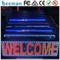Leeman programável Sinosky led / led movendo exibição de mensagem / publicidade led eletrônico de 16 * 192 cm
