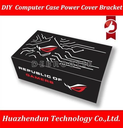 DEBROGLIE bricolage personnalisé coque d'ordinateur support de couverture de puissance décorer conseil ROG MSI protéger plaque de couverture de puissance