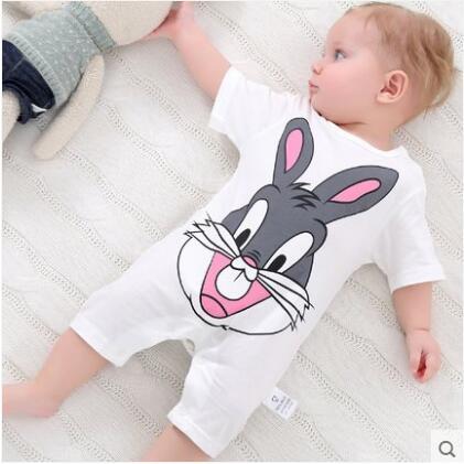 summer 2018 baby bodysuits 0-24M short sleeve body babies newborn baby girl boy clothing cotton infant jumpsuit cartoon costume 8