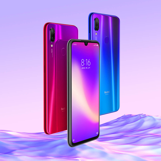 Global Rom Xiaomi Redmi Note 7 Pro 6GB 128GB Snapdragon 675 48MP IMX 586 Camera Octa Core 6.3'' FHD Screen Mobile Phone QC 4.0 4