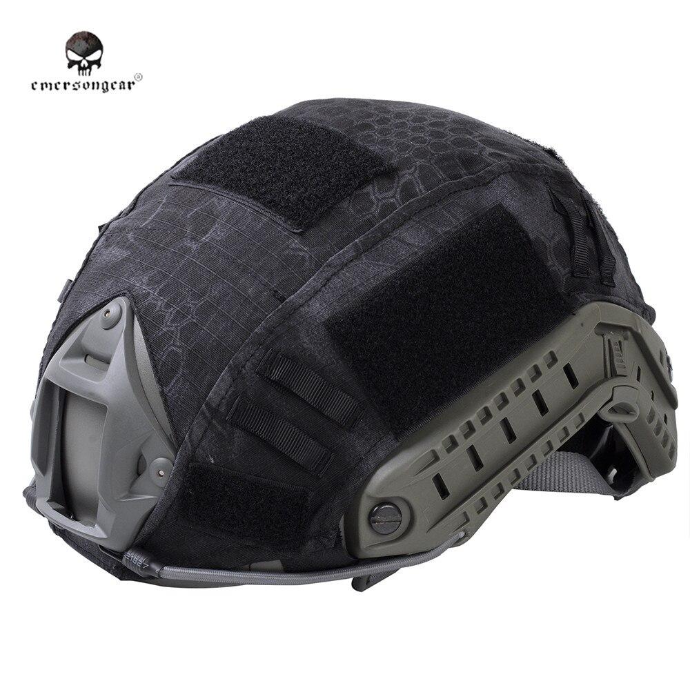 Prix pour Emerson Hommes Tactique Couvre-casque pour Rapide BJ/PJ/MH Casque En Plein Air Militaire Combat Paintball Airsoft Sécurité dans les Sports Cascos Tissu