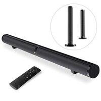 50 Вт 40 дюймов 2,0 канал Bluetooth Динамик Звуковой бар, улучшенный бас, цифровой усилитель проводной беспроводной домашний кинотеатр планшет с ТВ
