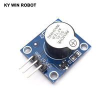Keyes Active Speaker Buzzer Module for Arduino works with Official Arduino Boards keyes kt0053 breadboard ceramic capacitors resistors more for arduino multicolored