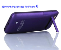 Recommend Charger Case For IPhone 6 With 8 Candy Colors Ultra Thin Backshell Wireless Power Case
