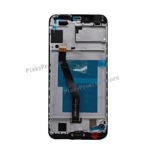 Image 4 - Huawei 社 Y6 2018 液晶ディスプレイタッチスクリーンデジタイザ Huawei 社 Y6 プライム 2018 液晶 ATU L11 L21 L22 LX1 LX3 l31 L42 画面とフレーム
