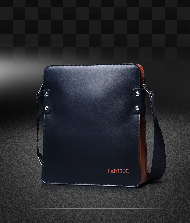 d2ec649637 ... finest selection 59563 7058f Padieoe XX Genuine Leather Cross-body Bag  Messenger Bag .. new product ef28c 700cb Padieoe Ernesto Mens ...