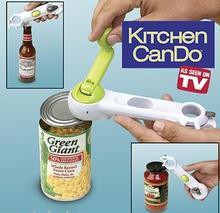 Multi-Function Bottle+Can+Jar Opener 6 in 1 Kitchen Tool cooking tools Beer Wine Soda Tab kitchen accessories bottle opener