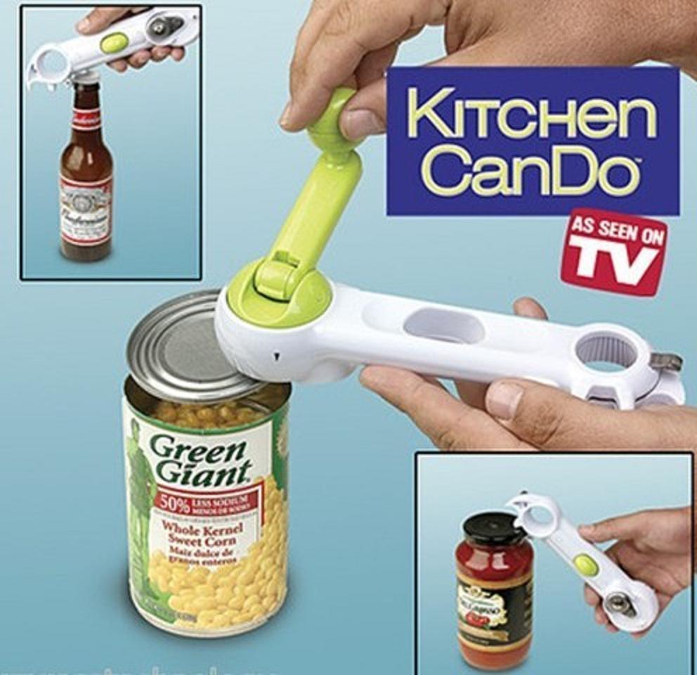 Multi-Function Bottle+Can+Jar Opener 6 in 1 Kitchen Tool cooking tools Beer Wine Soda Ta ...