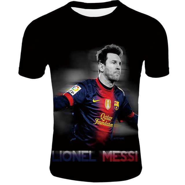 Messi T Shirt Summer...
