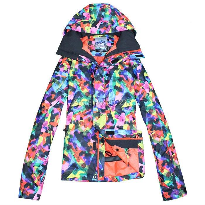 Prix pour 2014 mens coloré veste de ski snowboard veste pour hommes veste de sport vêtements de ski de neige veste imperméable respirant extrêmement chaud