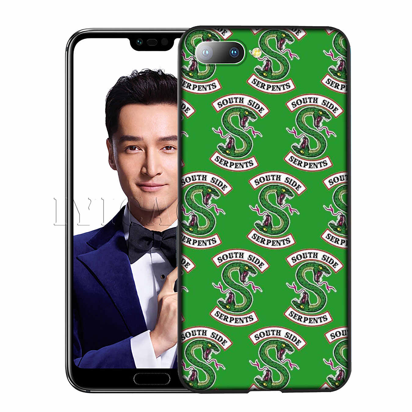 IYICAO Riverdale South Side Serpents love Soft Case for Huawei Y7 Y6 Prime Y9 2018 Honor 8C 8X 8 9 10 Lite 6A 7C 7X 7A Pro