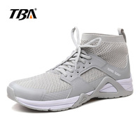 2019 TBA Summer Man Running Shoes Athletic Outdoor Sneakers breathable Black white Sports Shoes for Men USA 6 12