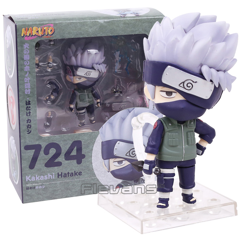 Nendoroid Naruto Hatake Kakashi 724 PVC Action Figure Collectible Model Toy 11cm
