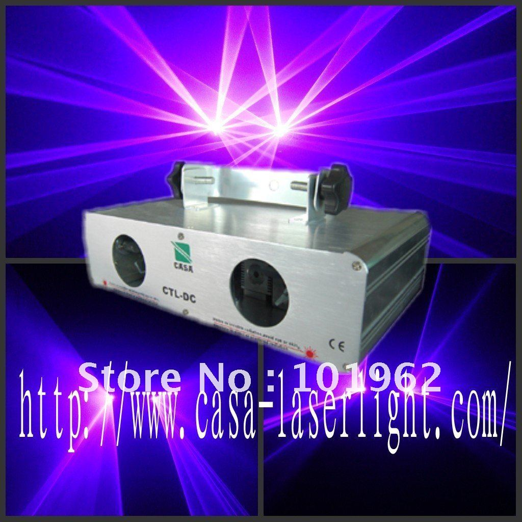 Guaranteed 100% 200mw 405nm violet DMX Sound sentity control dj laser light free shipping