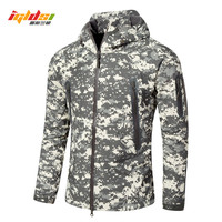IGLDSI Lurker Shark Skin Soft Shell V6 Military Tactical Jacket Men Waterproof Windproof Windbreaker Camouflage Camo