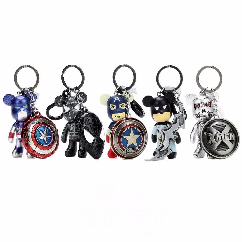 Luxury Bomgom Cartoon Popobe Gloomy Bear Teddy Bear Cute Ornaments Keychain Holder Bag Charm Holder Key Chain Pendant F267