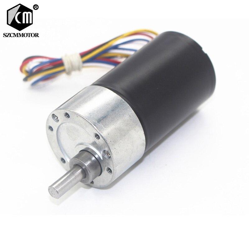 Low Noise Long Life High torque DC12V 24V Brushless Gear Motor JGB37-3650 цена