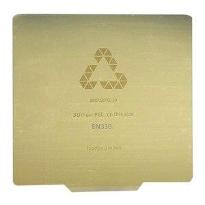 Image 1 - Энергичный новый обновленный 3D принтер Tronxy X5S Heatbed,330x330 мм Удаление пружинный стальной лист с подогревом кровати применяется PEI Flex Plate