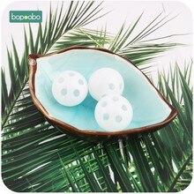 Bopoobo apertador de sino de plástico, 10 peças, chocalho de alta qualidade, bola de ruído, ecológico, cuidados dentais para bebê, seguro e natural brinquedo,