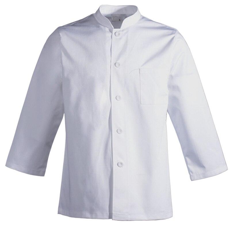 cuochi M//XL//XXL Nuovo WHITE BAKERS Catering uniforme Camicia a maniche lunghe cucina
