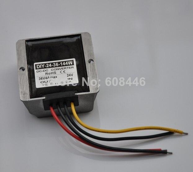 Converter DC 24V(20-30V) Step up to 36V 4A 144W DC Module power adaptor Regulator CE винт 4 8 m3 20 22 24 27 30 33 36 1