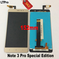 Good Working LCD Touch Screen Digitizer Assembly For Xiaomi Redmi Note 3 Pro Prime Special Edition