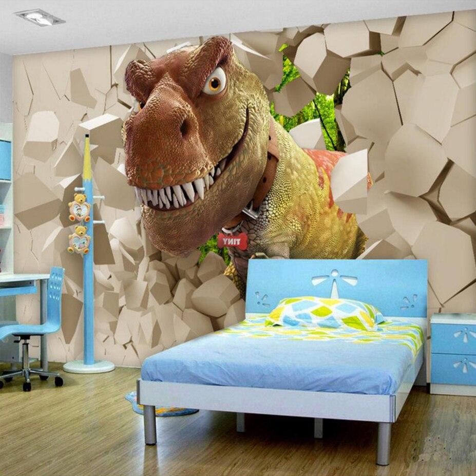 DIY Vinyl Dinosaurus Muurtattoo Sticker Kids Jongen Kamer Nursery ...