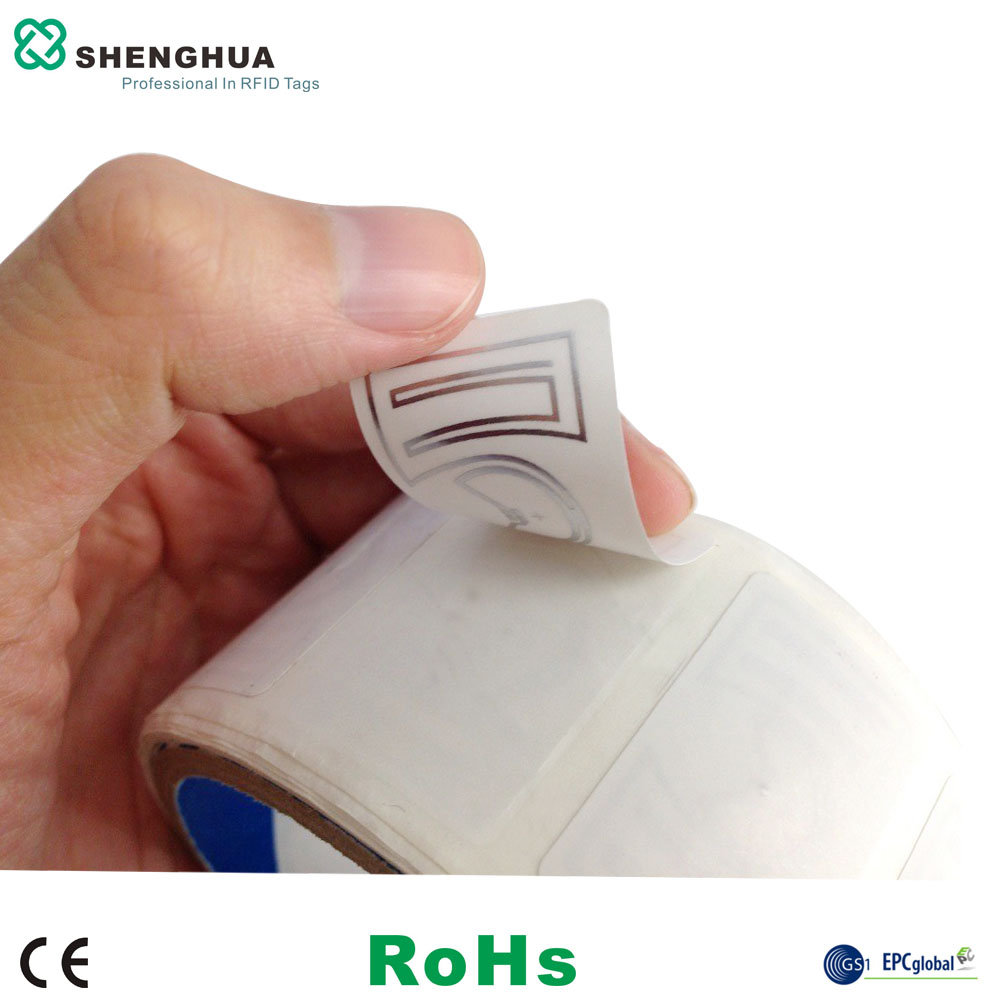 10pcs Smart Label Adhesive Sticker Tag UHF RFID Passive Labels Paper Tags