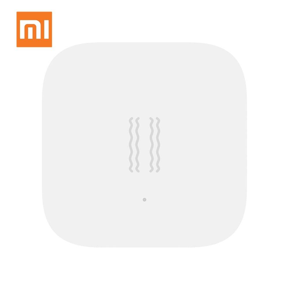 Original Xiaomi Mijia Aqara Vibration Shock Sensor Built In Gyro Mini Motion Sensor Xiaomi Mi Smart Home App Vibration Device