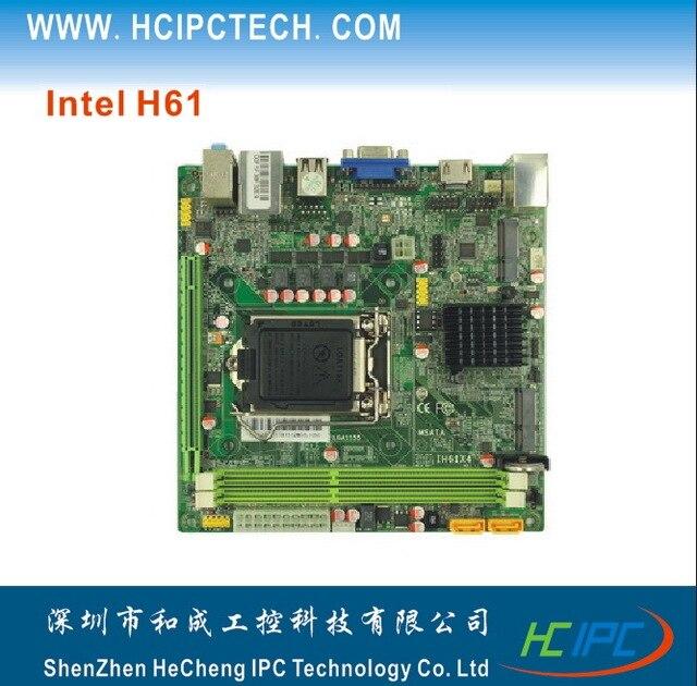 HCIPC 2043-3 ITX-HCM61X11F,LGA1155 H61 Mini ITX Motherboard,Mini ITX Motherboard for Car PC,White board etc