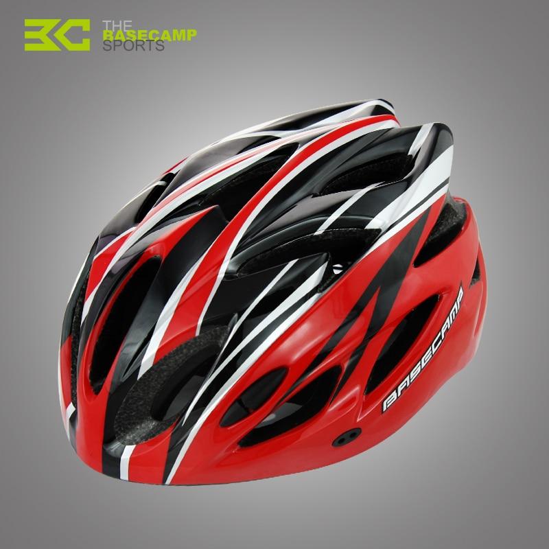 BASECAMP Unisexe Vélo Casque EPS Ultra-Léger VTT Montagne Vélo Casque  Confort Sécurité Casque Taille Libre accessoires vélo BC012 ebe333781bc