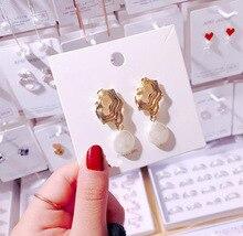 Earing Zinc Alloy Promotion New Pendientes Tassel Earrings 2019 Freshwater Jewelry For Women Dangle Drop Wedding/party