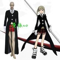 Soul Eater Maka Albarn Cosplay Coat + Shirt + Tie + Skirt