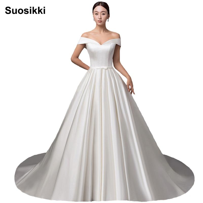 2018 robes de soirée Sexy a-ligne sur mesure chérie hors de l'épaule robe de soirée robes de bal