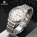 Comtex army men reloj mecánico automático luminoso reloj de pulsera de oro hombres artículos de regalo reloj grande del dial de cristal de zafiro del reloj