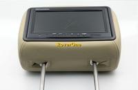 2 шт. X 9 дюймов Автомобильный подголовник монитор тонкопленочный плеер с ЖК дисплеем подголовник экран авто Multimidia видео/tela encosto carro som automotivo