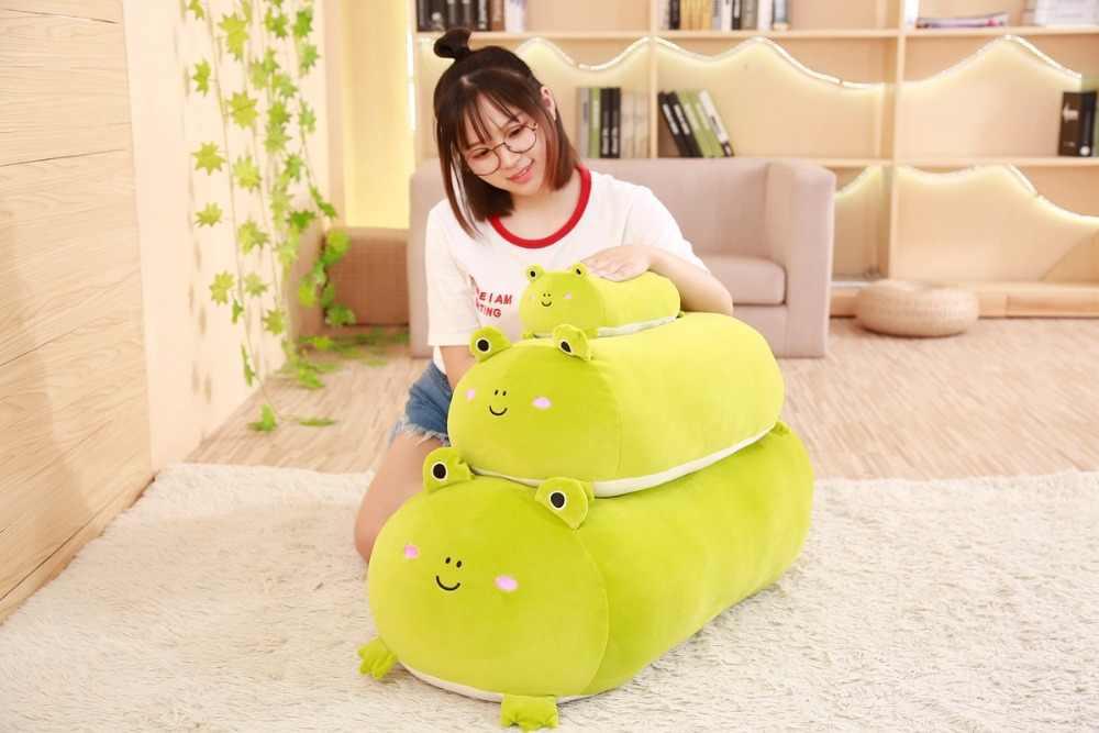 רך בעלי החיים קריקטורה כרית קטיפה צעצוע Kawaii שומן כלב חתול Totoro פינגווין חזיר צפרדע בפלאש ממולא בעלי החיים יפה ילדים Birthyday מתנה