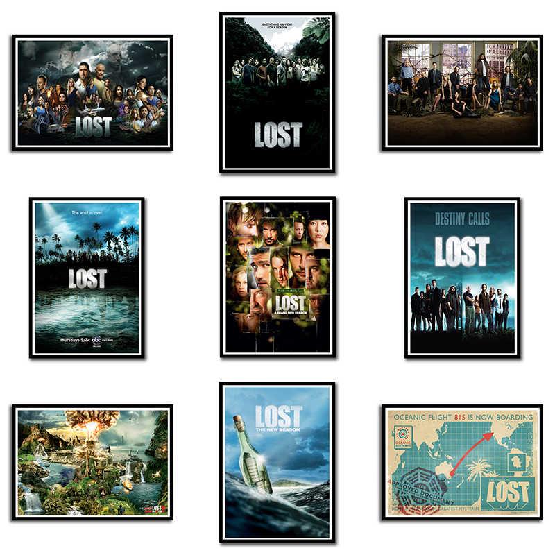 H976 Lost American Adventure TV Series Seasons Pop Art Poster Decor