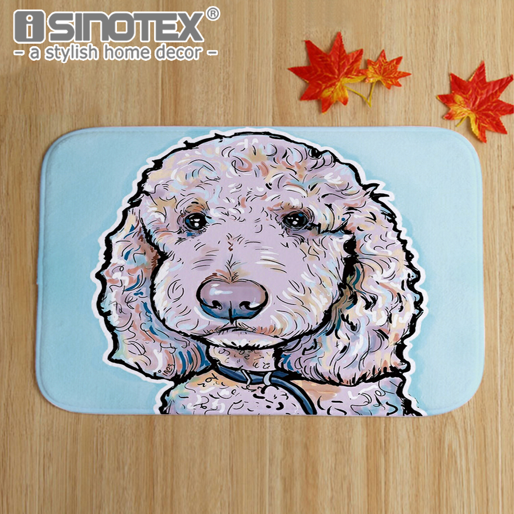 pin floor carpet mat floors products anti slip print dog