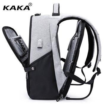 3fbfcd8a628e0 KAKA nuevo diseño hombres ocio mochila impermeable con colores del árbol  mujeres 15
