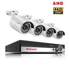 4CH 1080 P 2.0MP выход DVR AHD CCTV камера системы открытый s P2P видео охранных комплект видеонаблюдения HDMI приложение вид ИК