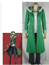 New Akame Ga Kiru! cosplay NIGHT RAID hero lucifer cosplay costume coat+shirt+pant+gloves set