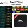 Best H96 Royal IPTV Android TV Box Amlogic S905 Quad Core 64Bit 4K Media Player FHD 1080P IPTV Box HDMI Android 5.1Smart TV Box