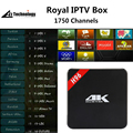 H96 S905 Real IPTV Android SMART TV Box Amlogic Quad Core de $ number Bits 4 K FHD 1080 P IPTV Media Player HDMI Android 5.1 IPTV Caja