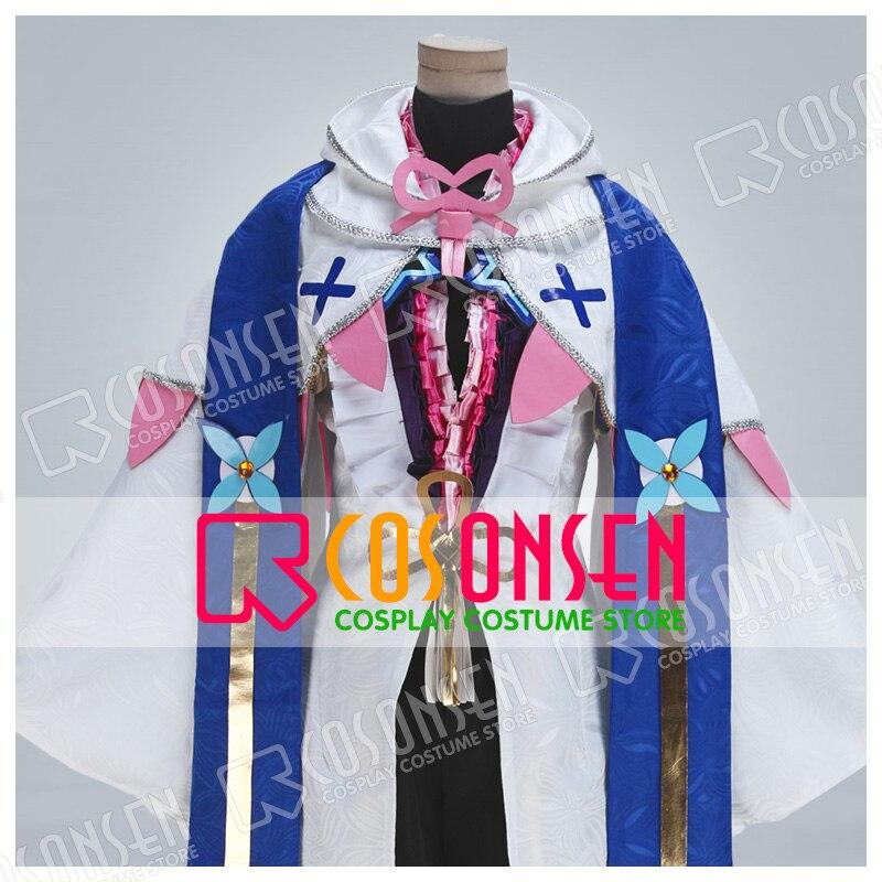 Fate Grand Order Merlin FGO кимоно Косплей Костюм Полный комплект Женский костюм COSPLAYONSEN